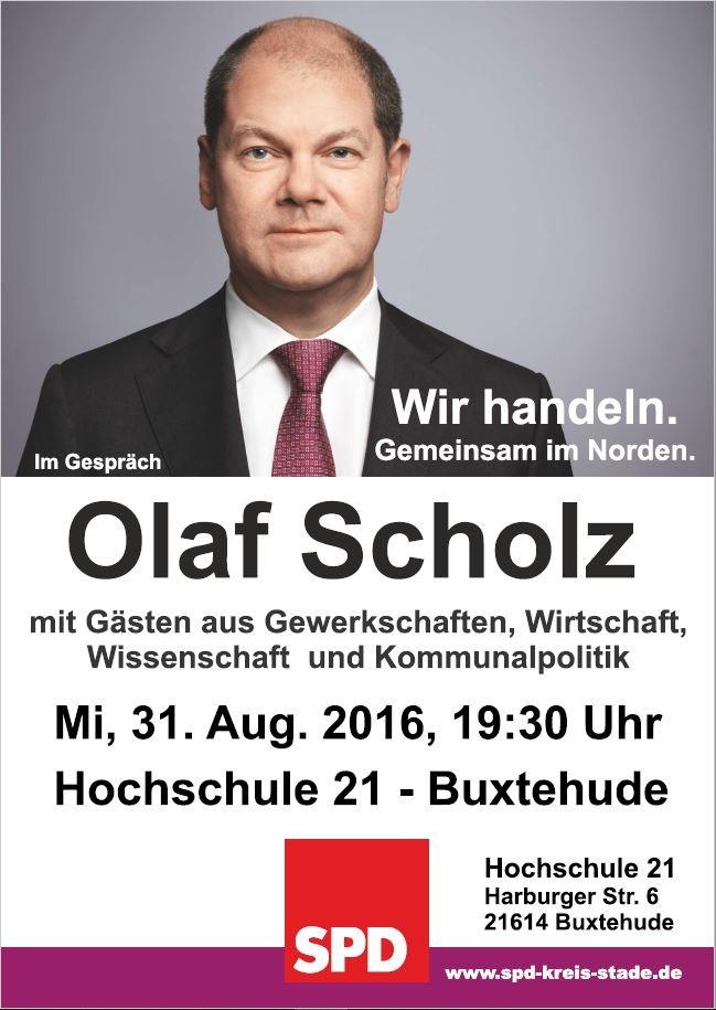 Plakat Olaf Scholz