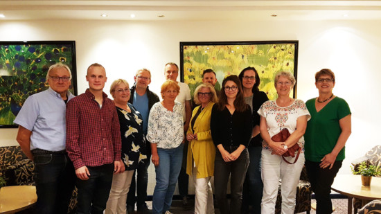 Teilnehmer*innen des Mentorenprogramm Kommunalpolitik des UB Landkreis Harburgs
