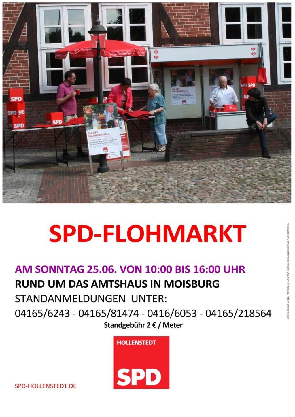 SPD Flohmarkt Moisburg 2017