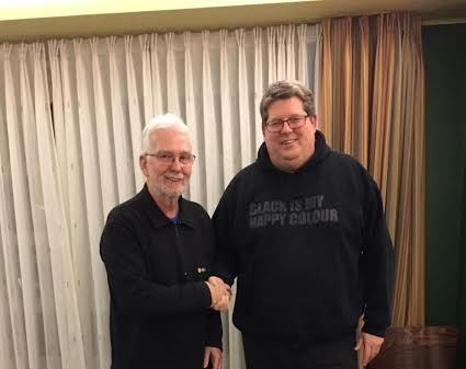 Siegfried Raabe ubergibt Vorsitz an Frank Plantikow