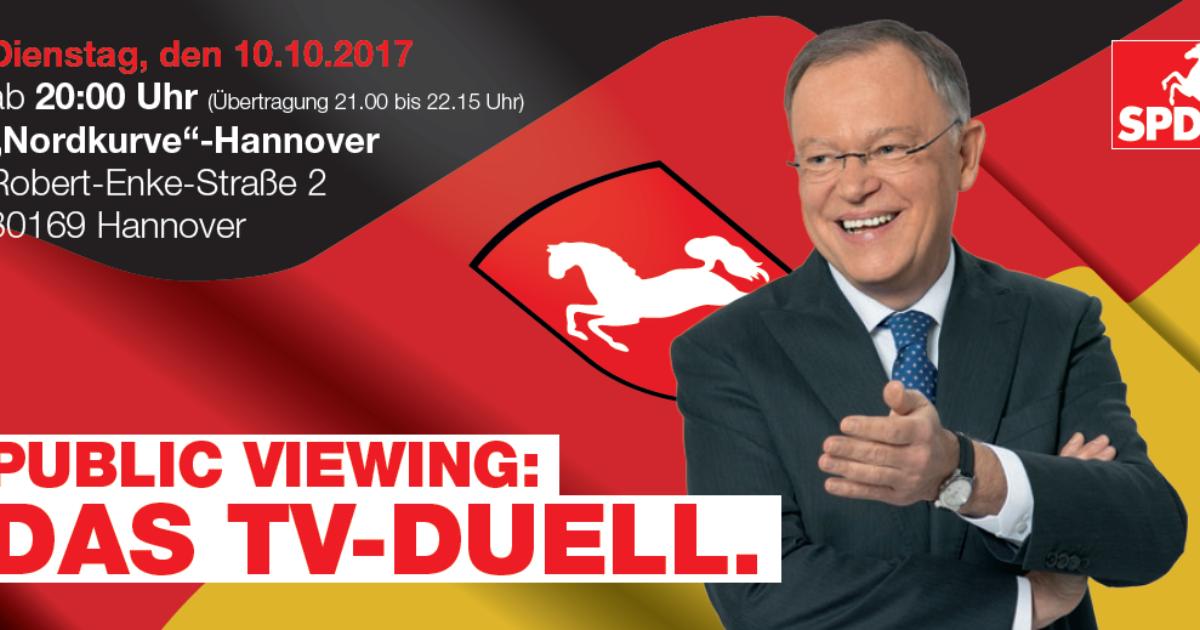 tv duell niedersachsen
